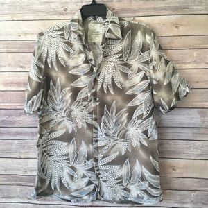 Tasso Elba Men's Hawaiian Shirt 🌺